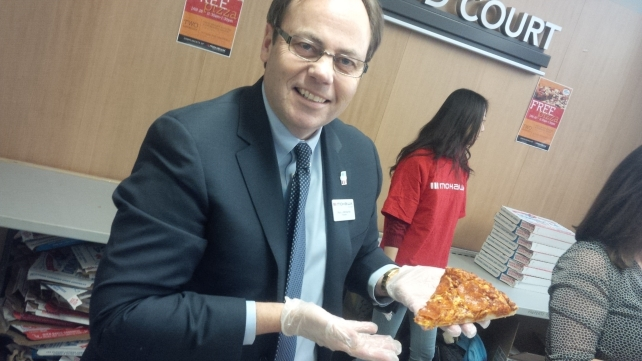 Slinging pies falls under other duties as assigned. I appreciated the opportunity to thank our students for choosing Mohawk and making this the most satisfying job of my career.