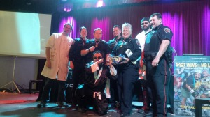 Hamilton Police Service won the celebrity bridge building competition. Mohawk's senior leadership team has a year to practice for the 29th annual challenge.