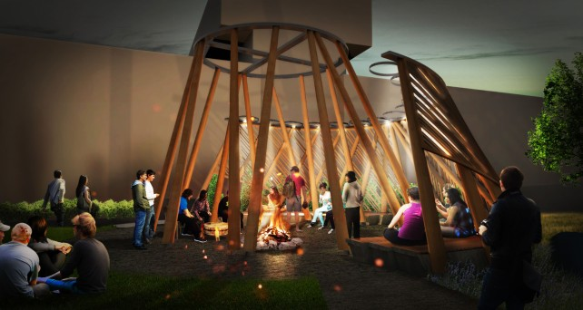 Indigenous gathering space